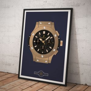 Hublot Big Bang Watch Poster